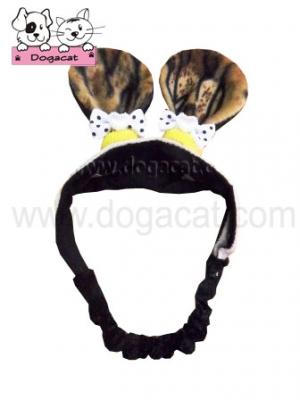 หมวกสุนัข หมวกหมา หมวกแมว แฟนซี หูเสือ