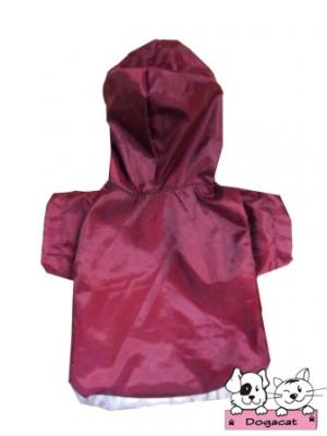 เสื้อสุนัข เสื้อหมา เสื้อน้องหมา เสื้อผ้าหมา เสื้อแมว เสื้อผ้าสุนัข กันฝน สีแดง