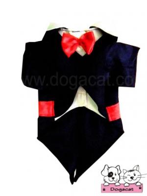 เสื้อสุนัข เสื้อน้องหมา เสื้อหมา เสื้อผ้าหมา เสื้อแมว เสื้อผ้าสุนัข ชุดทักซิโด้ชาย สูทดำ