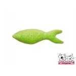 ของเล่นแมว ตุ๊กตาปลาแคทนิป สีเขียว