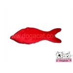 ของเล่นแมว ตุ๊กตาปลาแคทนิป สีแดง
