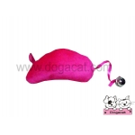 ของเล่นแมว ตุ๊กตาหนูแคทนิป สีชมพู