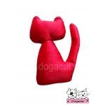 ของเล่นแมว ตุ๊กตาแมวแคทนิป สีแดง