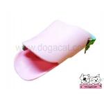 ปากเป็ดครอบปากสุนัข สีชมพู