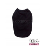 เสื้อสุนัข เสื้อแมว เสื้อยืด สีดำ