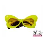 แว่นสุนัข แฟนซี สีเหลือง