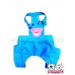 เสื้อสุนัข เอี๊ยมหมี สีฟ้า