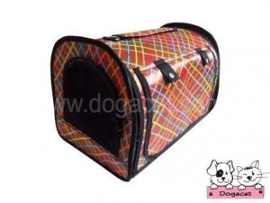 กระเป๋าหมา กระเป๋าสุนัข กระเป๋าแมว กระเป๋าน้องหมา กระเป๋าใส่หมา กระเป๋าใส่น้องหมา กระเป๋าใส่สุนัข กระเป๋าใส่แมว เป้สุนัข เป้หมา เป้แมว ทรงโค้ง ลายตารางเฉียง หลากสี