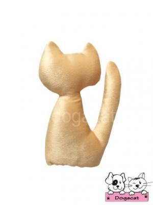 ของเล่นหมา ของเล่นสุนัข ของเล่นน้องหมา ของเล่นแมว ตุ๊กตาแมวแคทนิป สีทอง