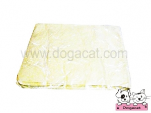 ของใช้สุนัข ของใช้หมา ของใช้แมว ผ้าชามัวร์สุนัข ผ้าชามัวร์หมา ผ้าชามัวร์แมว เช็ดตัวสุนัข เช็ดตัวหมา เช็ดตัวแมว สีเหลือง