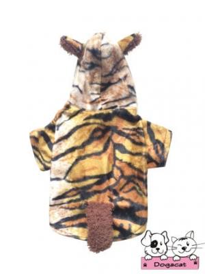เสื้อสุนัข เสื้อน้องหมา เสื้อหมา เสื้อผ้าหมา เสื้อแมว เสื้อผ้าสุนัข ชุดลายเสือลายพาดกลอน