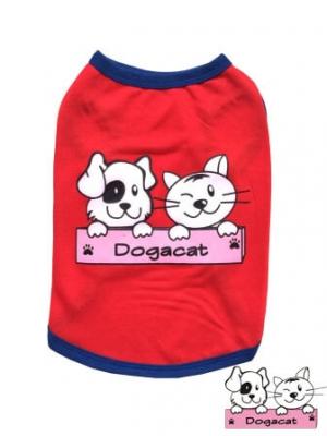 เสื้อสุนัข เสื้อหมา เสื้อน้องหมา เสื้อผ้าหมา เสื้อแมว เสื้อผ้าสุนัข เสื้อตาข่ายสีแดง Dogacat