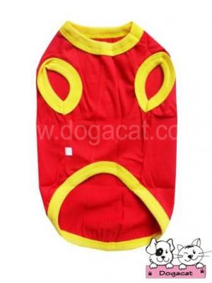 เสื้อสุนัข เสื้อหมา เสื้อน้องหมา เสื้อผ้าหมา เสื้อแมว เสื้อผ้าสุนัข เสื้อยืดจีนสีแดง