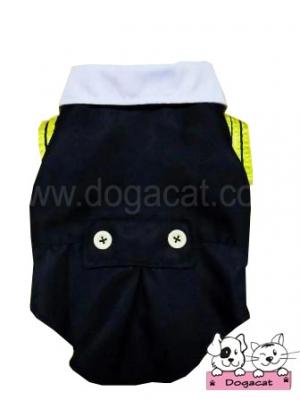 เสื้อสุนัข เสื้อหมา เสื้อน้องหมา เสื้อผ้าหมา เสื้อแมว เสื้อผ้าสุนัข ชุดนักเรียนอินเตอร์ ขอบเหลือง