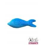 ของเล่นแมว ตุ๊กตาปลาแคทนิป สีฟ้า