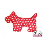ตุ๊กตาผ้าสุนัข ดาวแดง