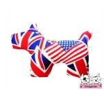 ตุ๊กตาผ้าสุนัข ลายลอนดอนสหรัฐ