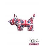 ตุ๊กตาผ้าสุนัข ลายลอนดอน