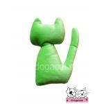 ของเล่นแมว ตุ๊กตาแมวแคทนิป สีเขียว