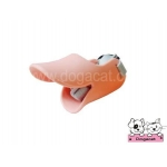 ปากเป็ดครอบปากสุนัข สีชมพูโอรสV2