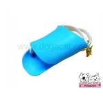 ปากเป็ดครอบปากสุนัข สีฟ้า