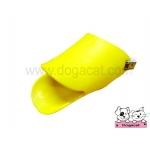 ปากเป็ดครอบปากสุนัข สีเหลือง