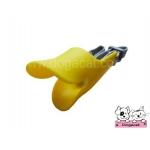 ปากเป็ดครอบปากสุนัข สีเหลืองV2