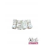 รองเท้าสุนัข สีขาวซากุระ