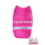 เสื้อสุนัข เสื้อแมว ชุดตาข่ายสีชมพู food dog