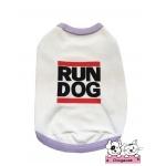 เสื้อสุนัข เสื้อแมว เสื้อตาข่ายสีขาว Run Dog