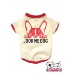 เสื้อสุนัข เสื้อแมว joob me dog ลายสุนัข สีครีม