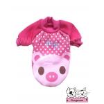 เสื้อสุนัข เสื้อแมว pig สีชมพู