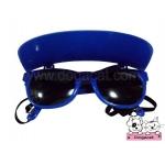 แว่นสุนัข กันแดด สีน้ำเงิน