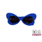 แว่นสุนัข แฟนซี สีน้ำเงิน