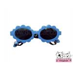 แว่นสุนัข แฟนซี สีฟ้า