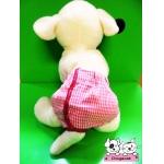 กางเกงอนามัยสุนัข กางเกงอนามัยหมา กางเกงอนามัยแมว สก๊อตชมพู