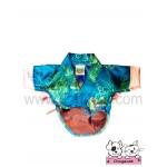 เสื้อสุนัข เสื้อหมา เสื้อผ้าหมา เสื้อแมว เสื้อผ้าสุนัข ชุดกิโมโนญี่ปุ่น สีฟ้า