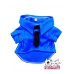 เสื้อสุนัข เสื้อแมว ชุดโปโล มีไทด์ มีอินธนู สีน้ำเงิน