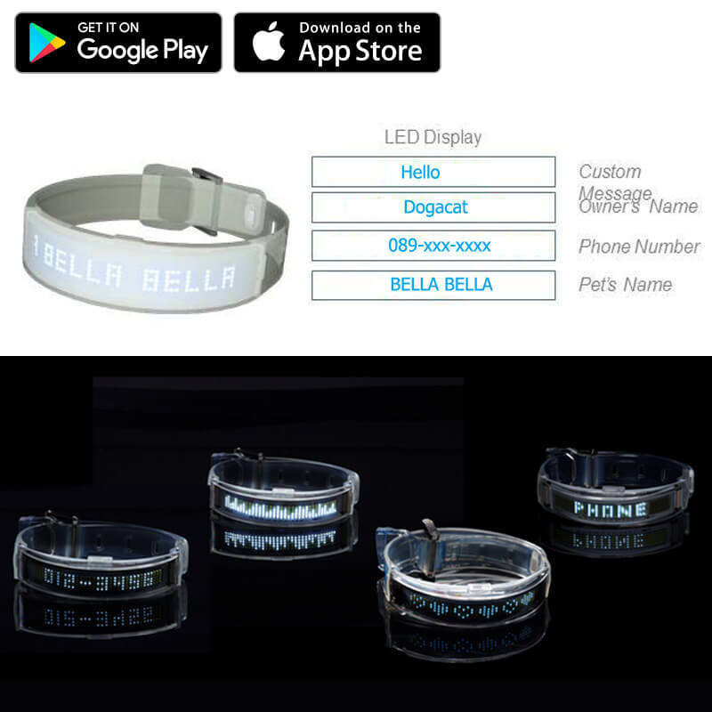 How to use Dogacat Smart LED Collar